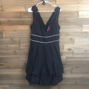 ⭐️ Torrid Black Polka Dotted Dress Size 12⭐️